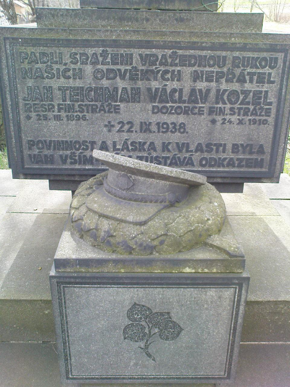 Denkmal in Dolni Podluzi