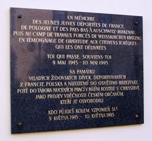 Erinnerungstafel Chrastava