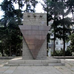 Denkmal für die »Opfer des Faschismus« am Wilhelmsplatz