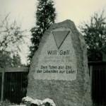 Willi Gall Gedenkstein