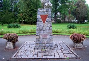 Gedenkstein in Großschönau