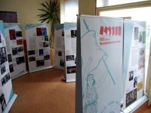 Ausstellung 150 Jahre Sozialdemokratie