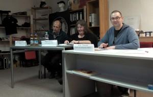 vlnr.: Michael Schostek, Anett Seeliger, Jens Thöricht