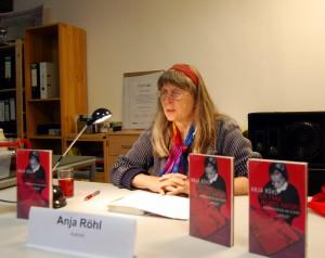 Anja Röhl liest aus ihrem Buch