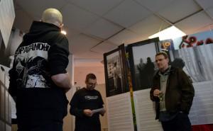 Jens Thöricht eröffnet die Ausstellung